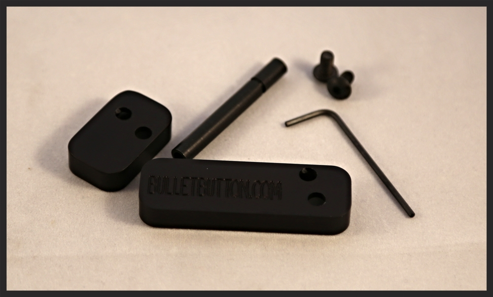 The Sig sauer 556 ambi release Bullet Button® is designed to fit the Sig 556 rifle.