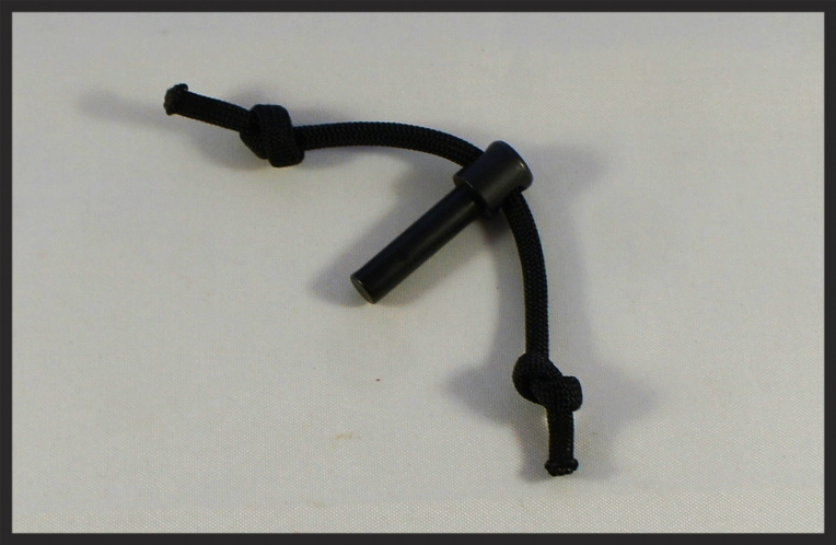 EXTENDED AR-15 REAR TAKEDOWN PIN w/ Paracord.