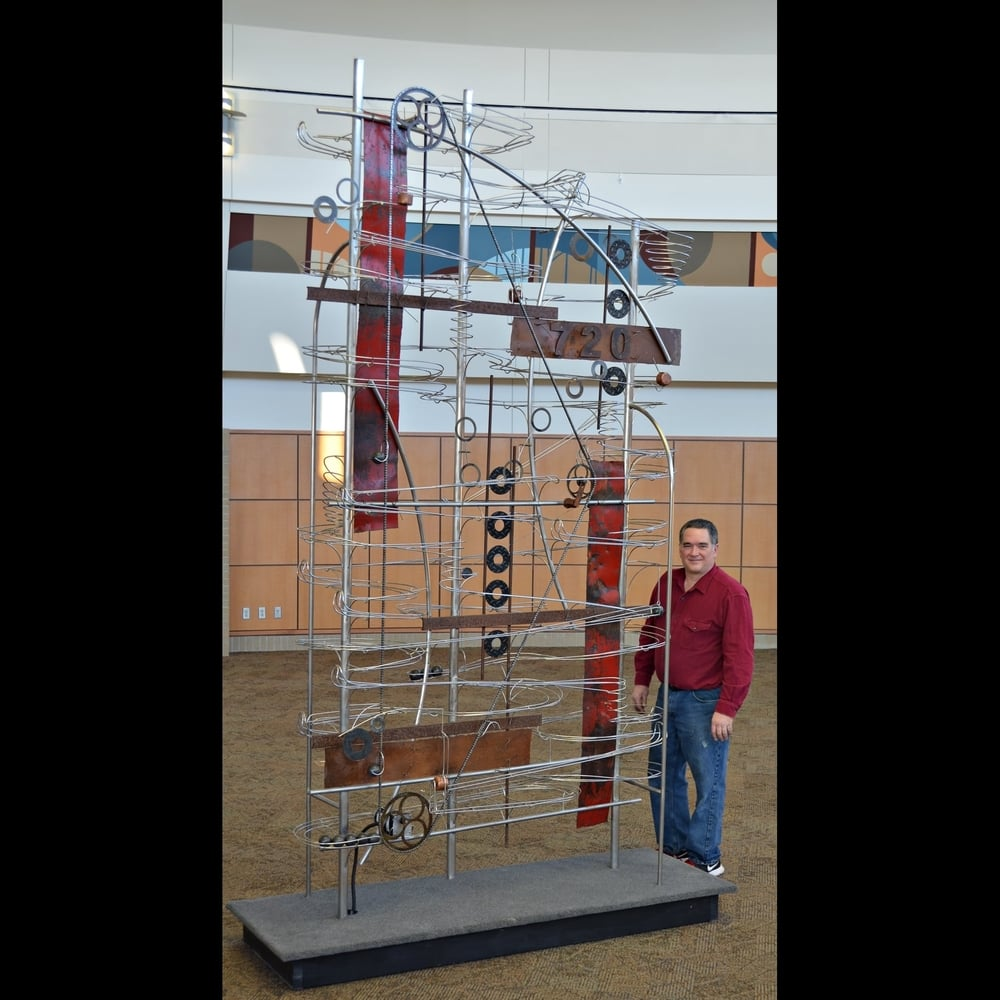 Kinetic Sculpture #720