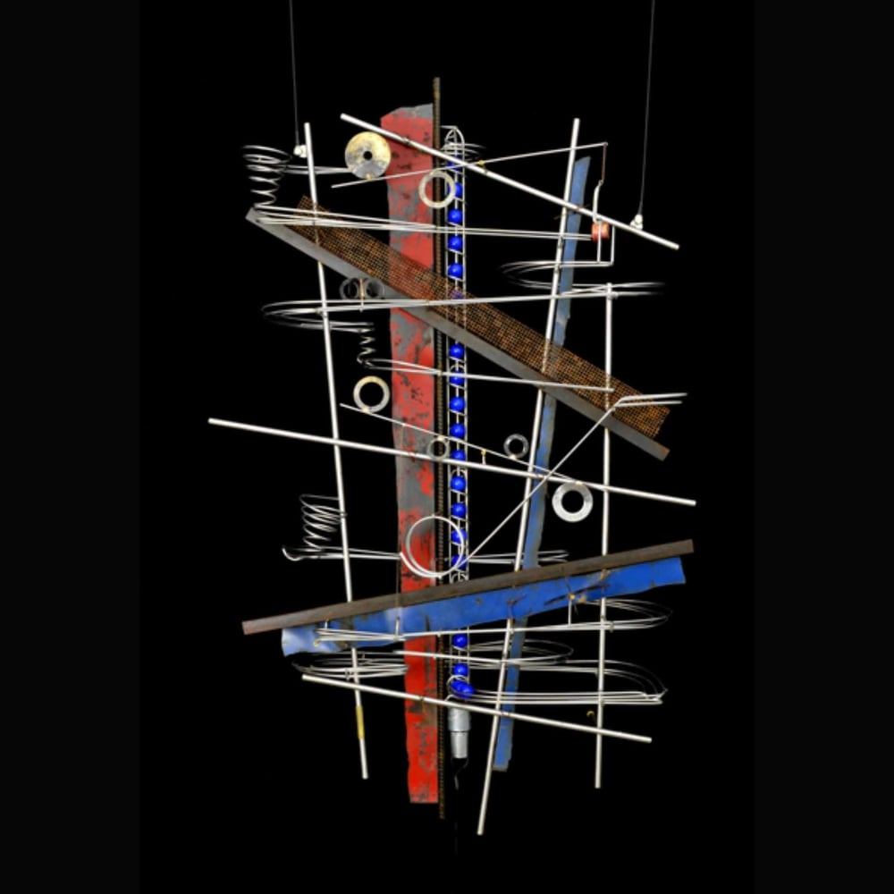 Wall Hanging Sculpture  44″ x 28″ x 9″