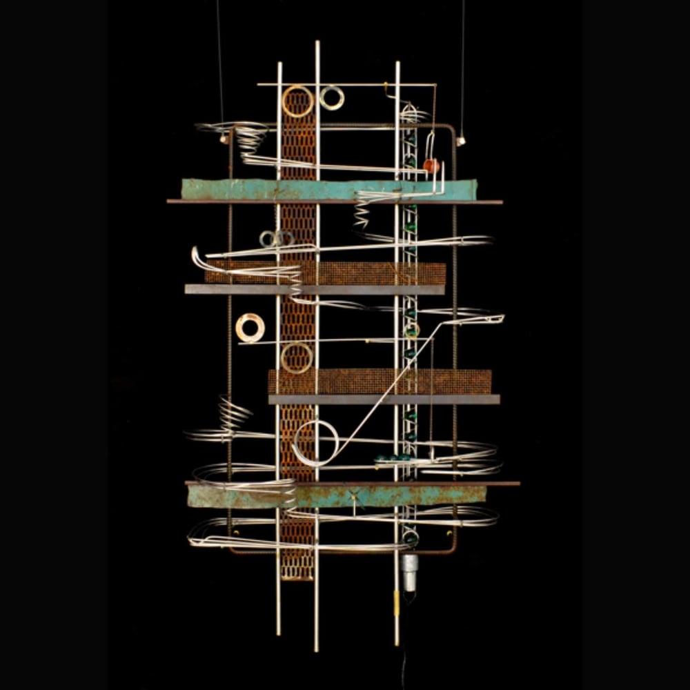 Wall Hanging Sculpture 48″ x 29″ x 9″
