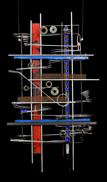 Wall Hanging Sculpture 46″ x 27″ x 9″