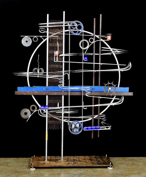 Standing Sculpture   32″ x 26″ x 9″