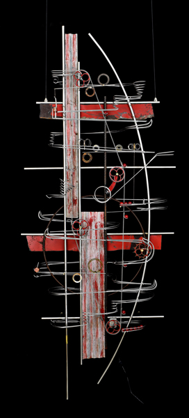 Wall Hanging Sculpture 81″ x 32″ x 9″
