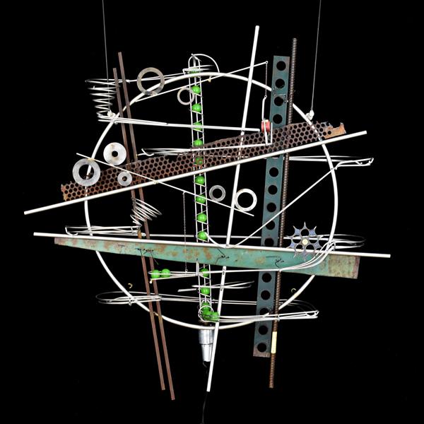 Wall Hanging Sculpture 33″ x 36″ x 9″