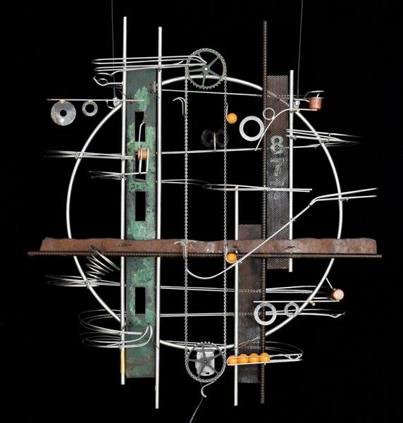 "Wall Hanging Sculpture 33″ x 29″ x 9"""