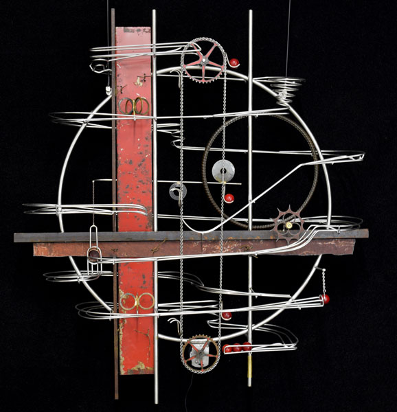 Wall Hanging Sculpture  34″ x 31″ x 9″ -Sold-
