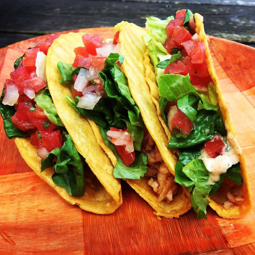 Crunchy Corn Shell Tacos