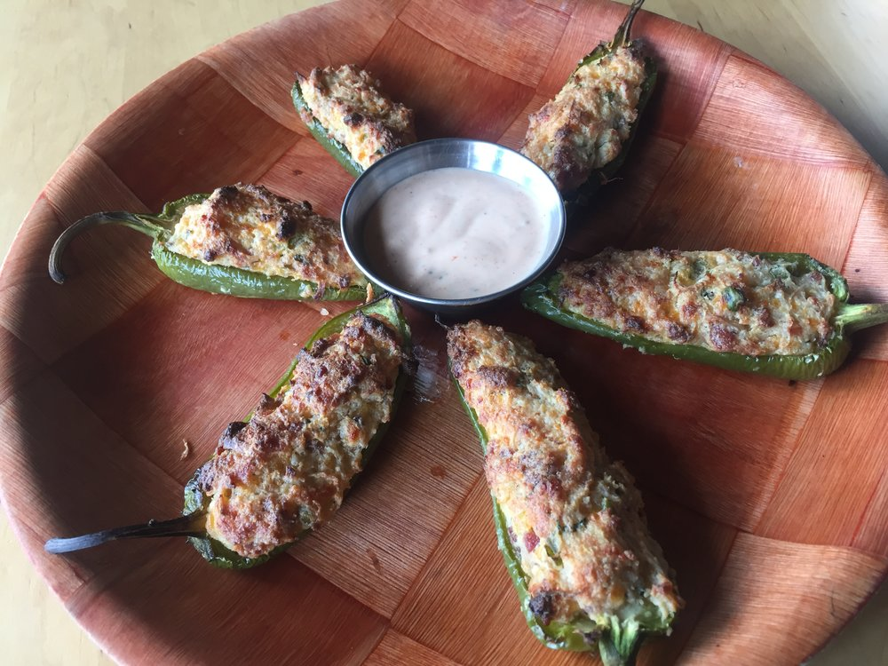 Stuffed Jalapeño Appetizer