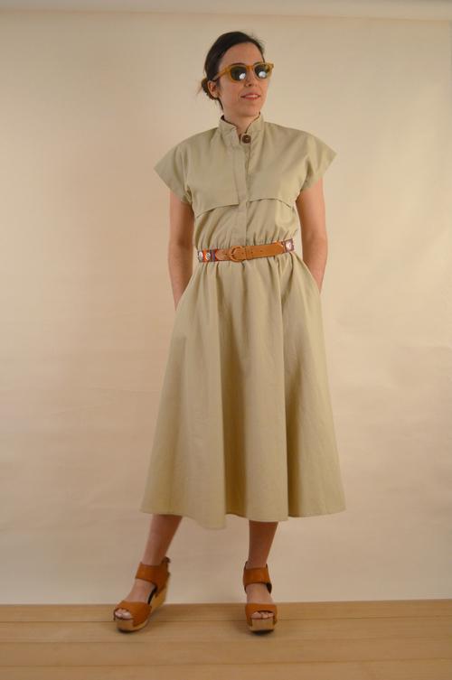 New Ida Safari Dress — nativen NS71