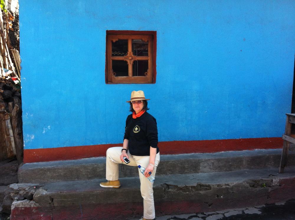 Ellen in Guatemala