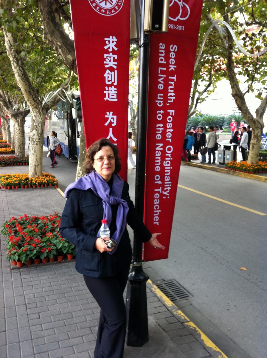 Ellen in Shanghai, China
