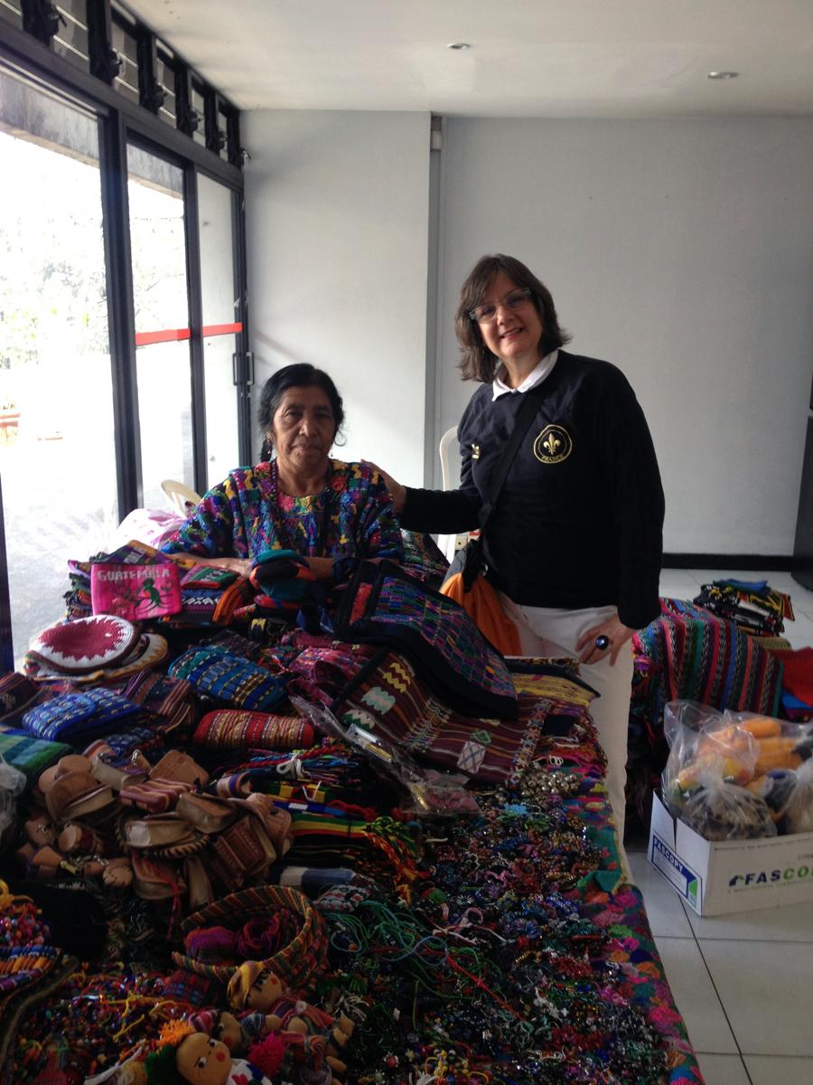 Beautiful Textiles in Guatemala