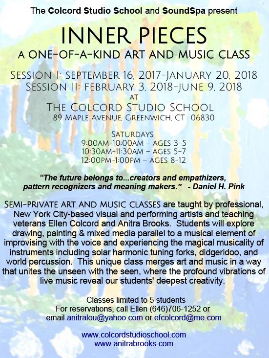Inner Pieces Art and Music Class — Colcord Studio School
