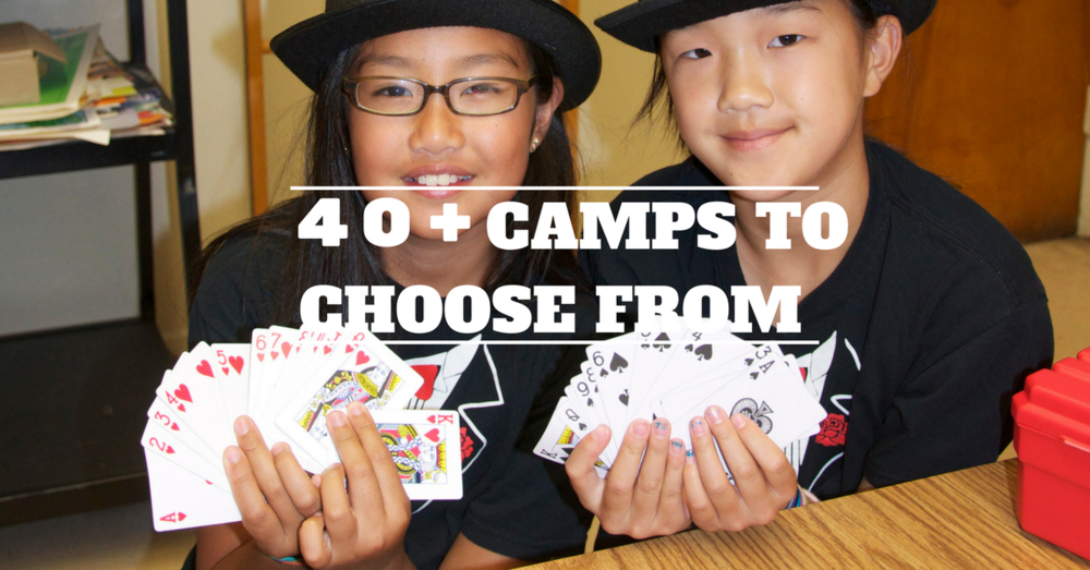 MAGIC  SUMMER CAMP AWESOME LOS ANGELES