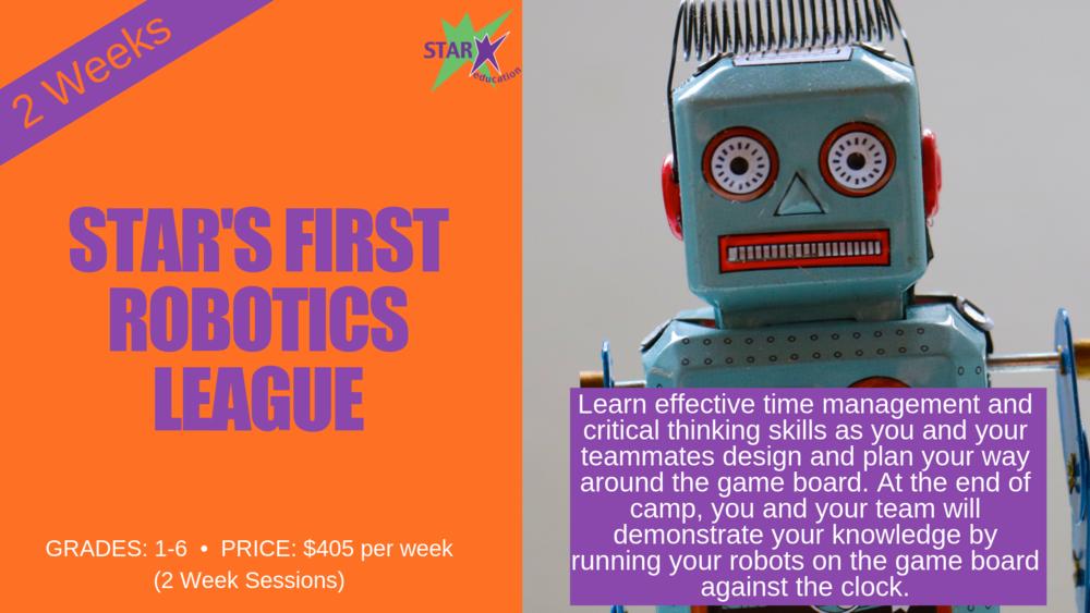 STAR's First Robotics League