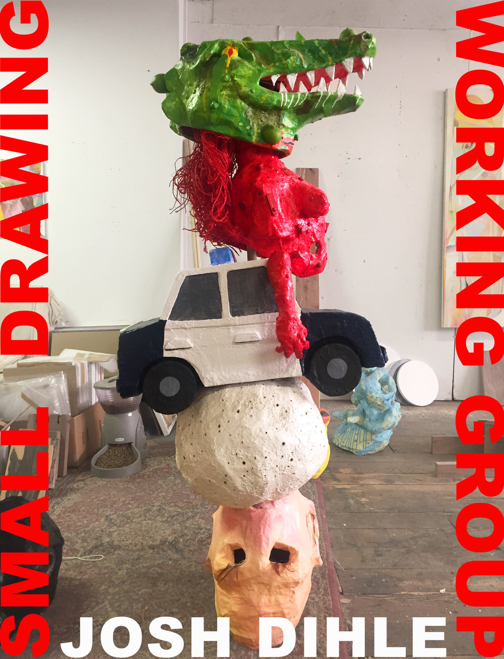 Small Drawing Working Group opens September 9th in Chicago at 4th Ward Project Space