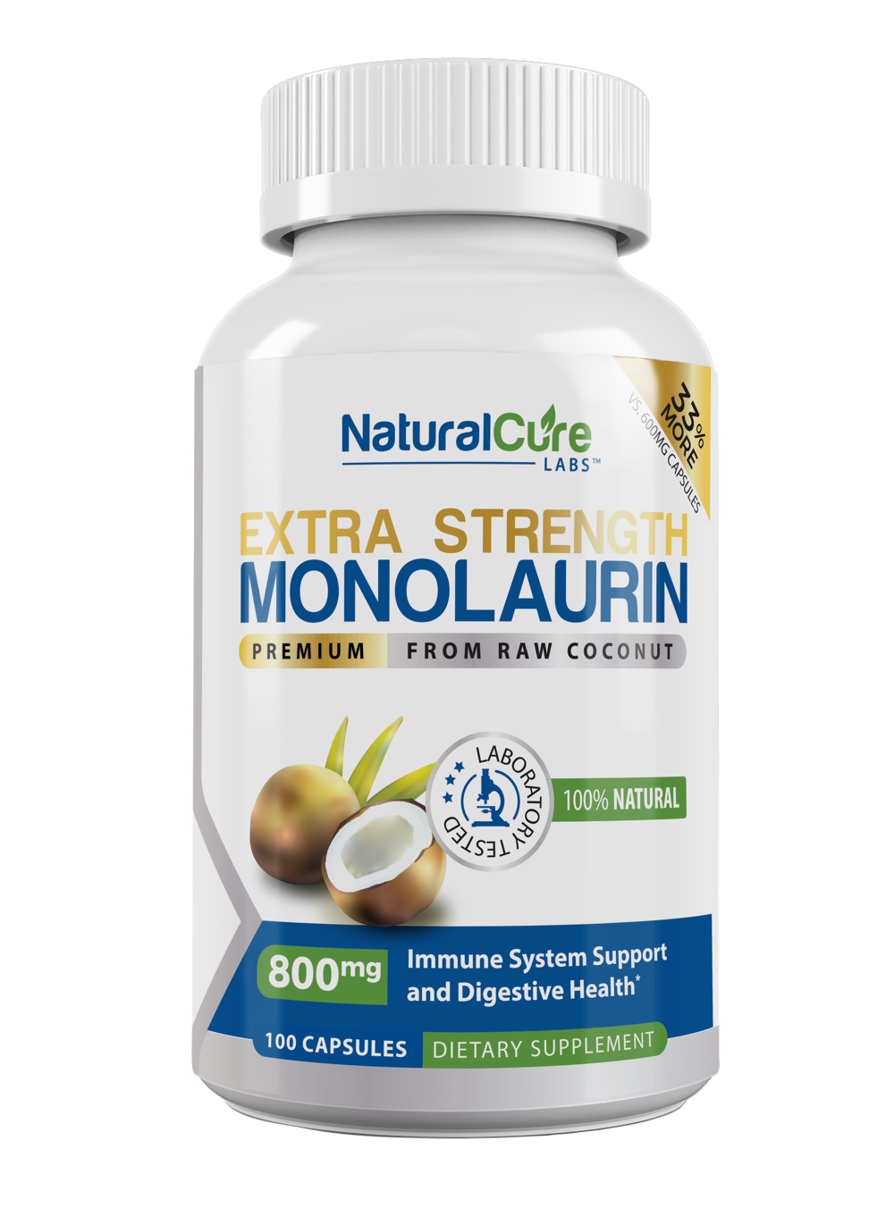 Monolaurin Extra Strength
