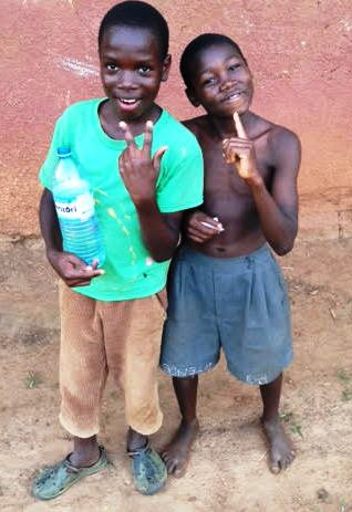 Jackson and his brother Joshua on Holiday.