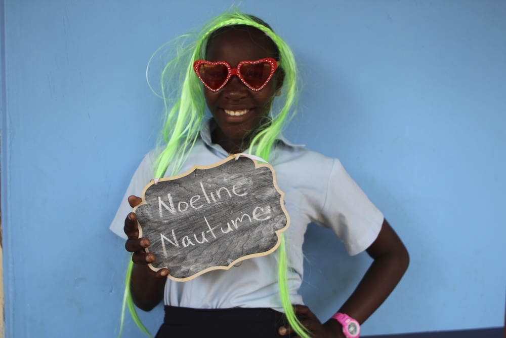 Noeline started P7, her final year in primary.
