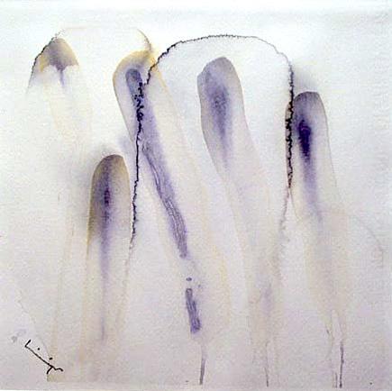 Frusna, akvarell