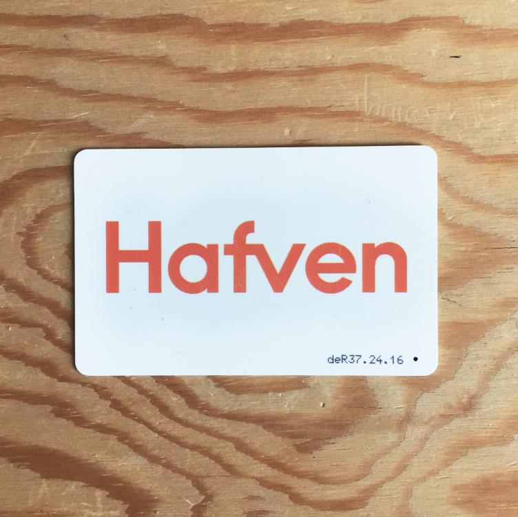 Öffnet im Hafven (fast) jede Tür – deine eigene Member-Card