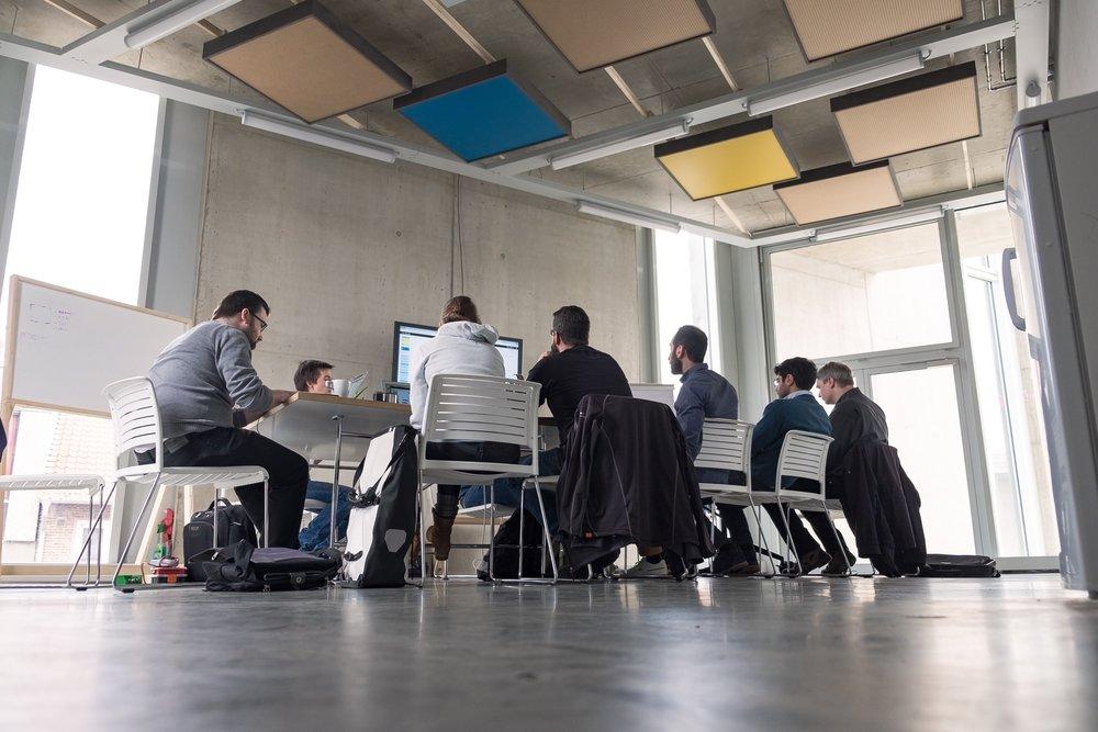 Der  Idea Space  ist unser Workshop-Raum für kreatives Arbeiten.