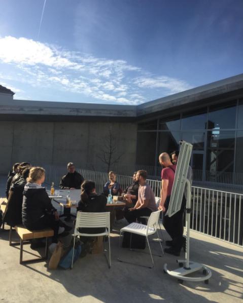 Der erste  Community Workshop  zum  Hafven Garten  – gemeinsam haben wir dort angefangen die Gestaltung der Außenbereiche zu planen