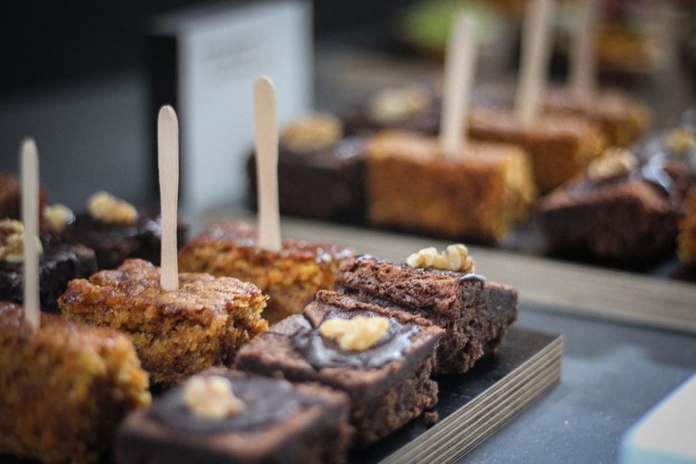 Kuchen als Fingerfood