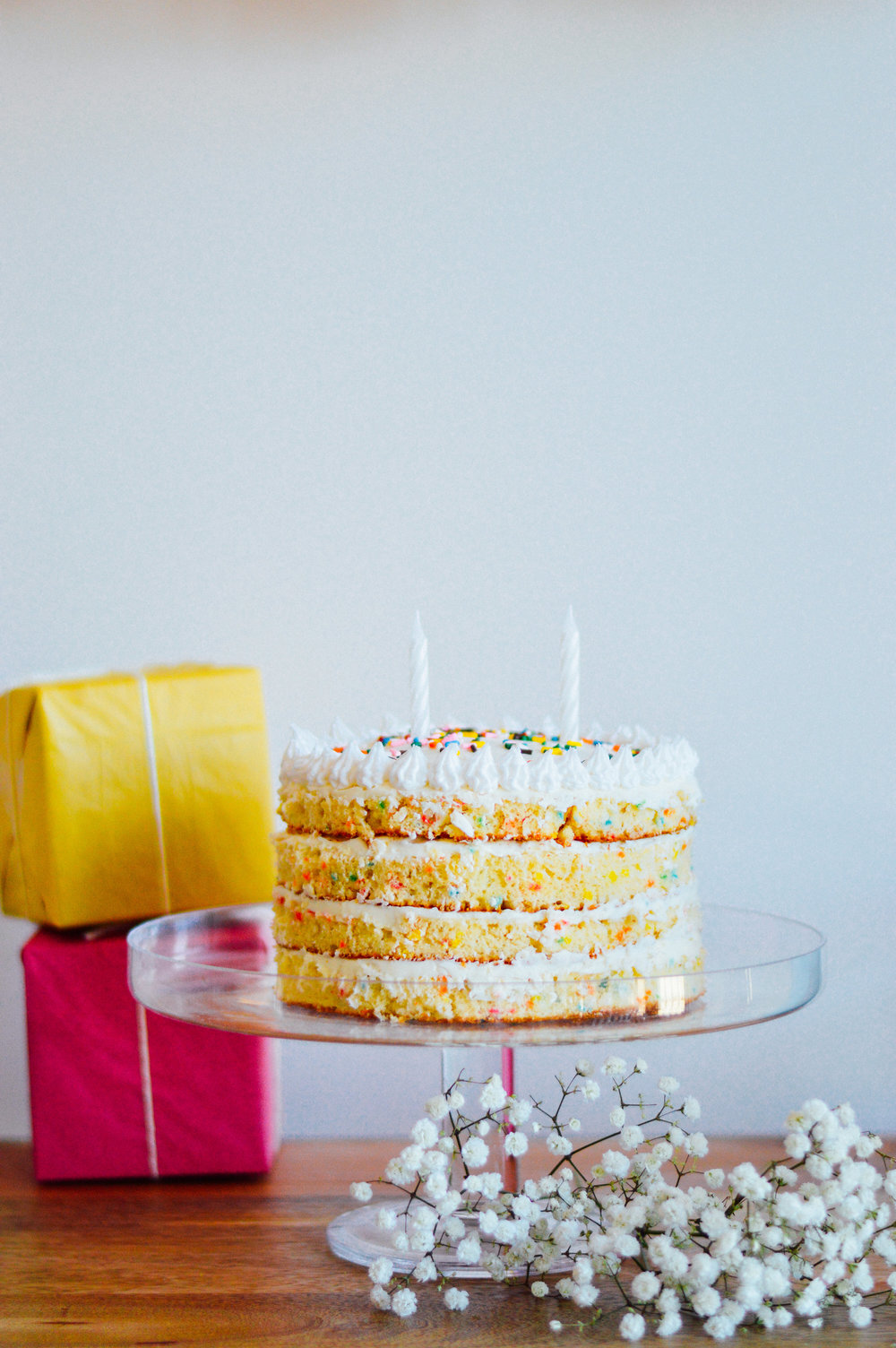 Any Excuse to Party: Classic Birthday Cake