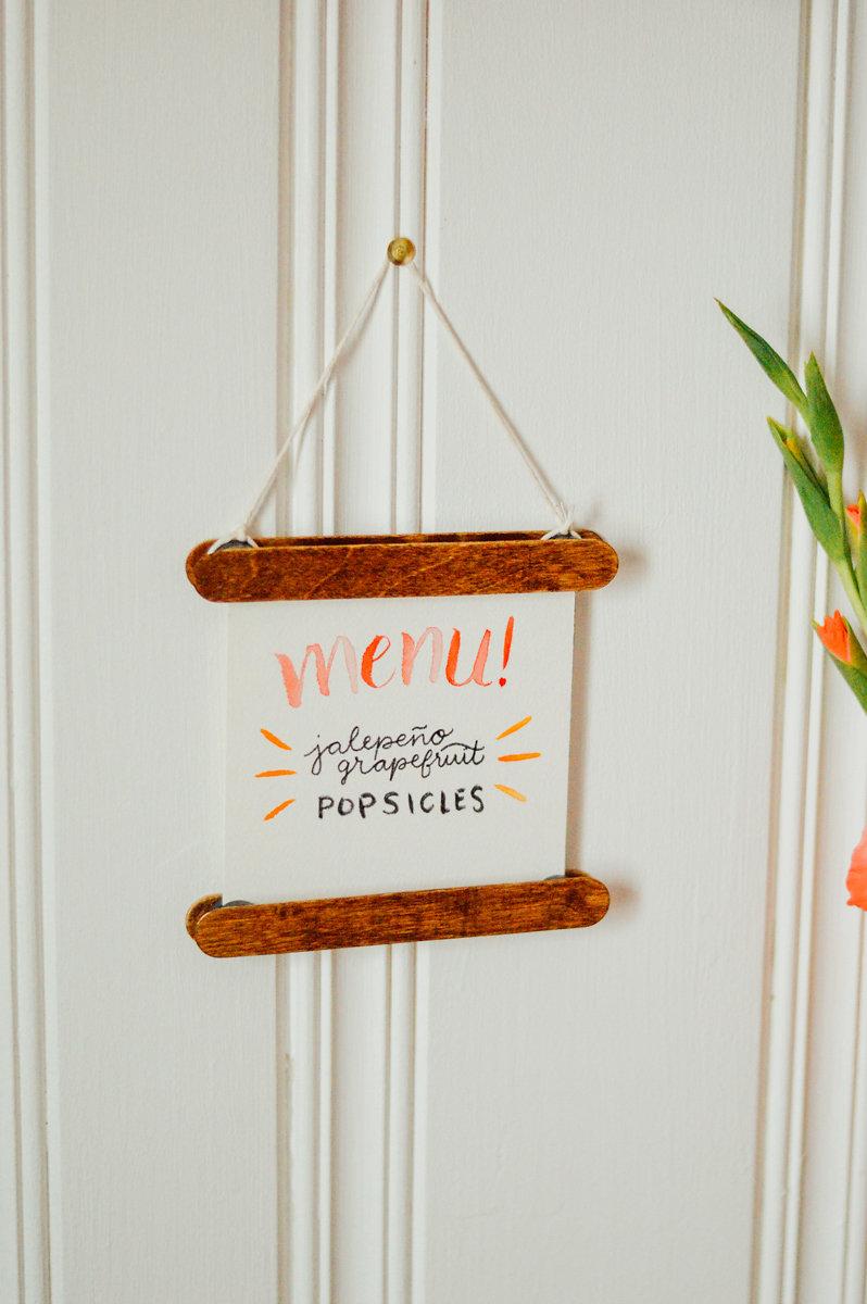DIY: Grown-Up Popsicle Stick Frames BLOG — Kelly Golia Event ...