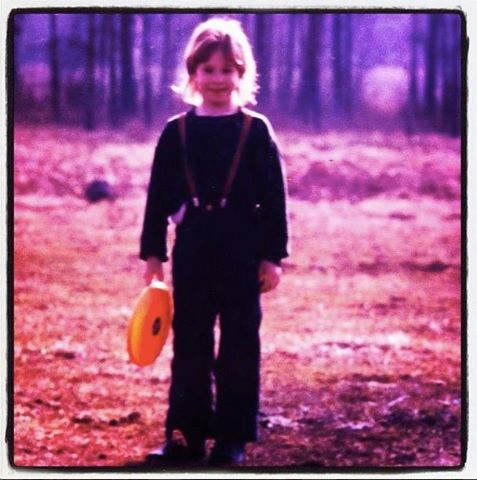 Här var jag runt 6 år - lika gammal som Nina i  Nina och snöleoparden.