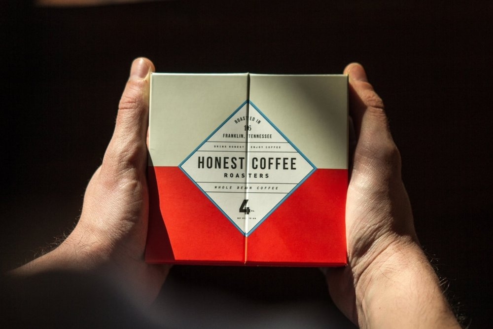 GET YOUR WEEK STARTED RIGHT WITH HONEST COFFEE, ROASTED IN FRANKLIN, TENNESSEE