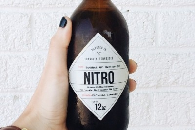 Honest coffee's cold brew nitro in bottles... have a 4-pack delivered to your front door!