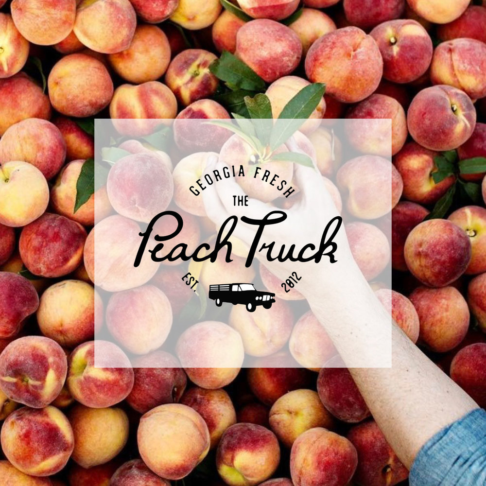 THE PEACH TRUCK PEACHES AVAILABLE FOR DELIVERY BEGINNING 5/17!