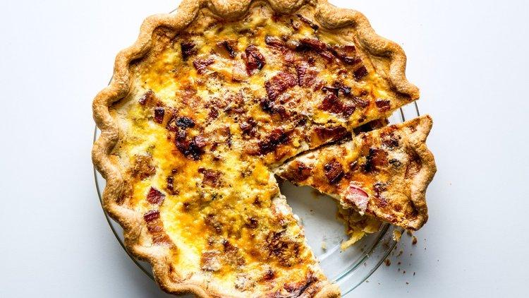 Breakfast Pie (Quiche) - Wolfe Gourmet Cakes