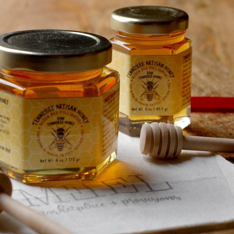 Local Honey - Queen Bee Pollinators