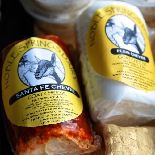 Cheese Selections - Noble Springs Dairy
