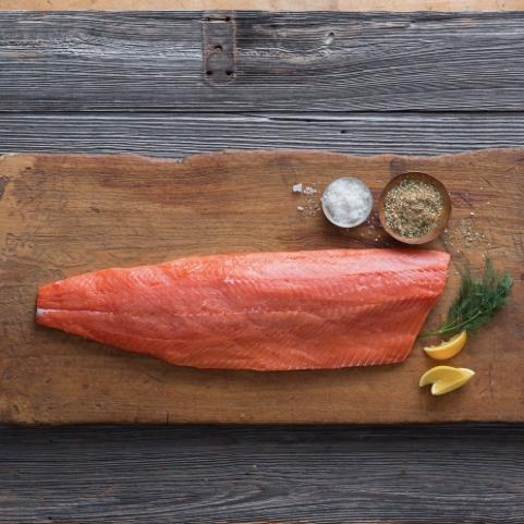 Wild Alaska Salmon - Virgin Bay Seafood