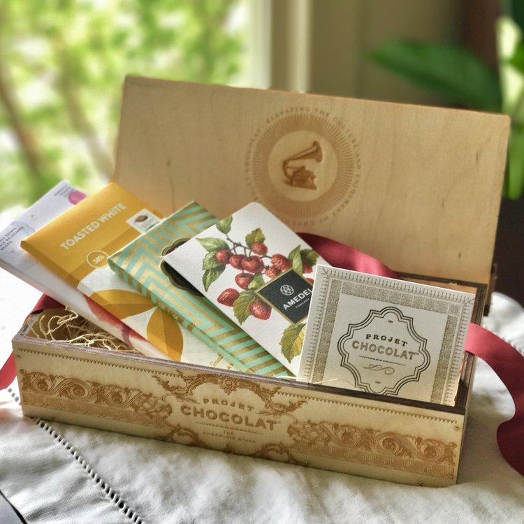 Chocolate Stash Box -Projet Chocolat