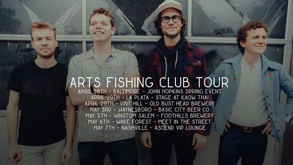 AFC Spring Tour 2017 dates. Photo by the great  Alexandra Justice .