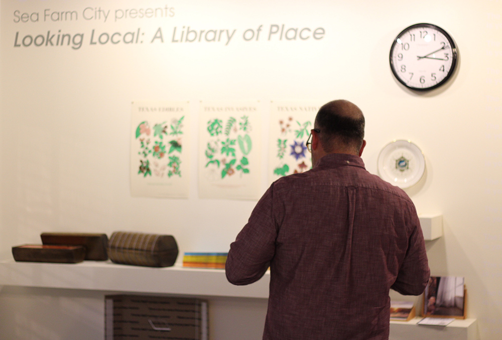 Looking Local: A Library of Place , Antenna Gallery, New Orleans, LA.