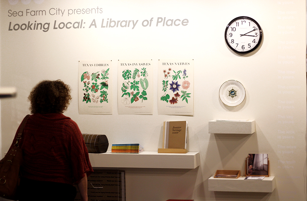 """Looking Local: A Library of Place"" Room 220 @ Antenna Gallery 3718 St. Claude Ave. New Orleans, LA 70117"