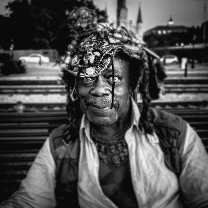 Obatiaye Cetewayo, on the levee New Orleans, LA September, 2016.jpg