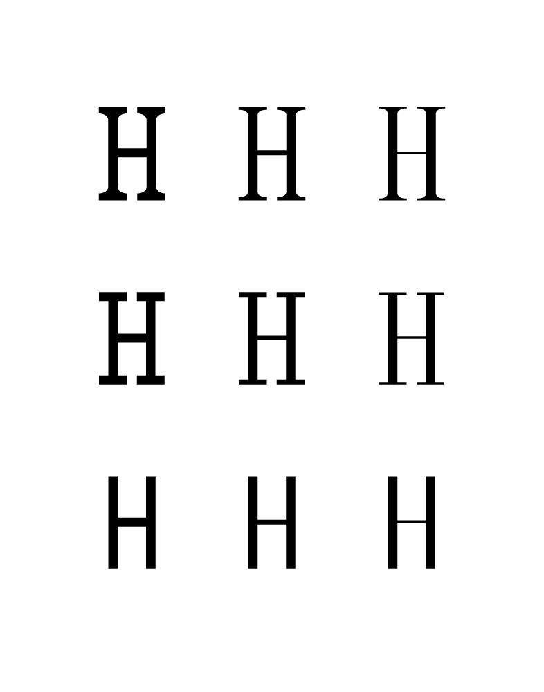 Serif Design