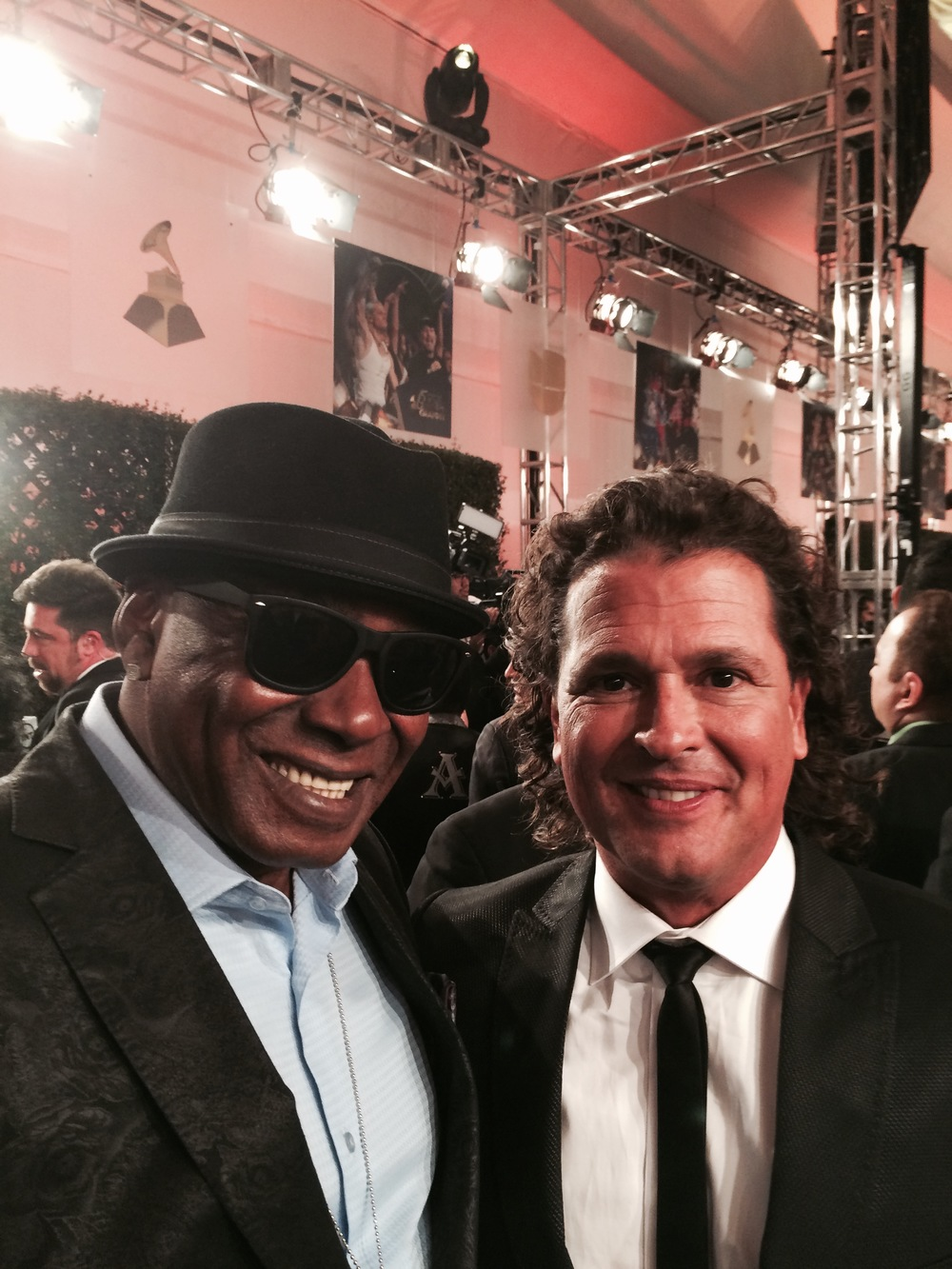 TD With Carlos Vives Latin Grammy's 2014.jpeg