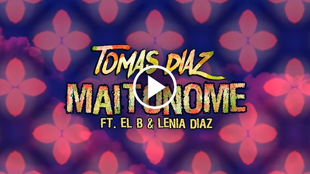 Watch #Maitonome now on my youtube! (link in bio) #TomasDiaz  #tomasdiazmusic #RTMP #lyricvideo#musicvideo #new #outnow #rasta #reggae#rastafari #groovy #animation #colors #latin#music #funk