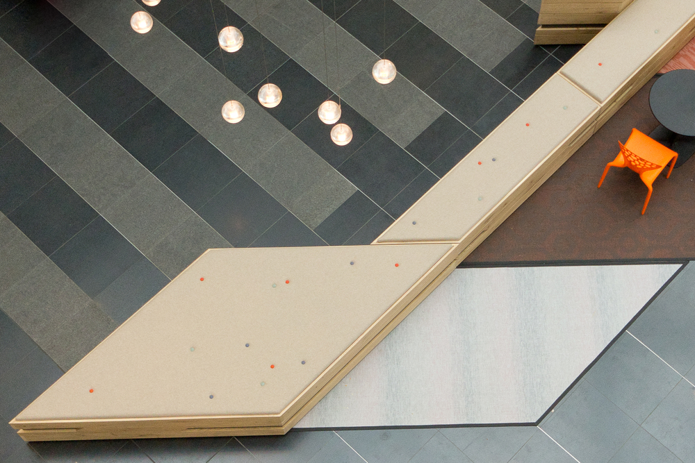 Interieur winkelcentrum New Babylon