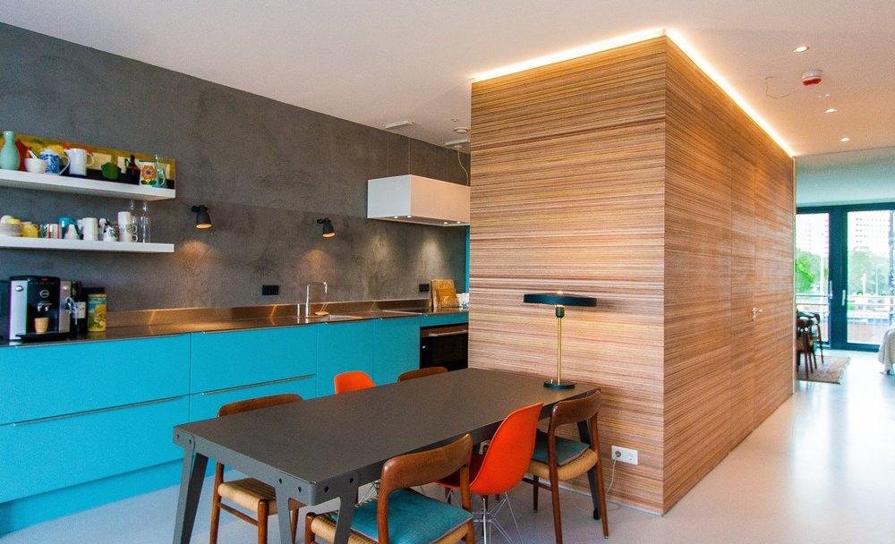 Interieur appartement Amstelkwartier