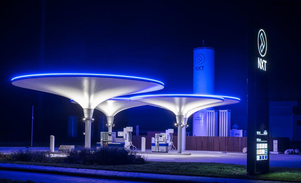 Duurzame tankstations NXT